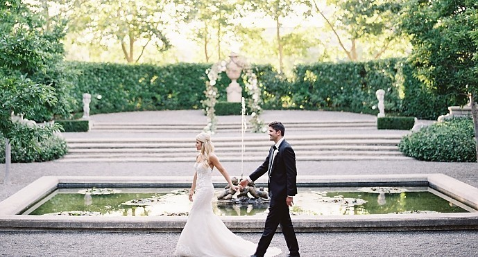 Chelsea &amp; Nick - <p>Beaulieu Garden<br /> Napa, CA</p>  <p>Overflowing with love and modern glamour for days this wedding was down-right enviable. Blush peonies, golden accents, a multitude of details and an oh-so romantic couple were just a few of the facets that made this Napa Valley wedding a stunner.</p>