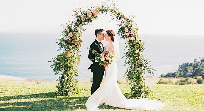 Haran &amp; Jerry - <p>Catalina View Gardens<br /> Palos Verdes, CA</p>  <p>These springtime nuptials were like a dream. With jaw dropping views, an ocean breeze and bountiful flowers this one was the epitome of effortless and refreshing and quite a treat for these New Yorkers and their guests.</p>