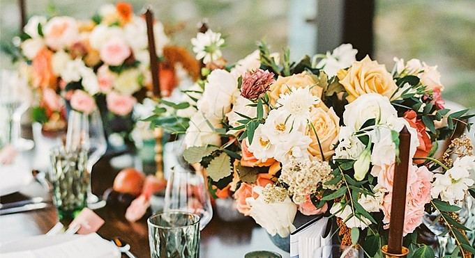 Monica &amp; Juan Carlos - <p>The Cape<br /> Cabo San Lucas, MX</p>  <p>Inspired by their love for Wes Anderson and the existing decor of The Cape, we worked with rich autumnal colors and natural fabrics and wood elements to create a wedding uniquely their own.</p>
