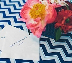 Gray Malin Summer Party - <p>The Malin Home<br /> Los Angeles, CA</p>  <p>A fun and vibrant getaway for guests to enjoy the colorful world of Gray Malin. Guests celebrated the launch of Aqua Glam in an outdoor gallery while exploring lifestyle products styled throughout the home.</p>
